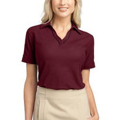 Ladies Silk Touch™ Piped Polo