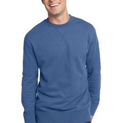 Young Mens Vintage French Terry Crew Neck Sweatshirt